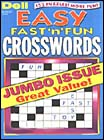 DELL'S BEST EASY FAST 'N' FUN CROSSWORDS Magazine - Puzzles and Games
