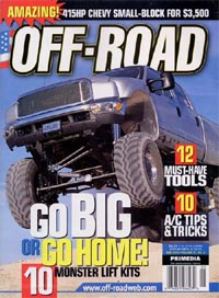 Off-Road magazine subscription