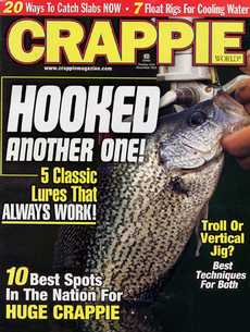Crappie World magazine subscription