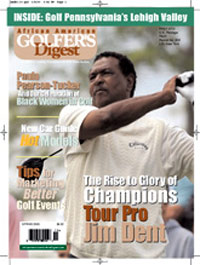 African American Golfers Digest Magazine Subscription
