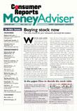 Consumer Reports Money Advisor Magazine