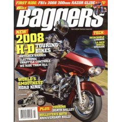 Hot Bike Baggers Magazine