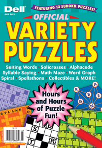 Dell Offical Variety Puzzles magazine subscription