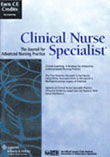 Clinical Nurse Specialist Magazine - MedicalUS magazine subscriptions