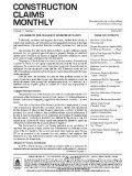 Construction Claims Monthly Magazine