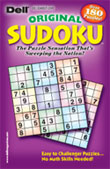 Dell Original Sudoku Magazine - Puzzles and Games