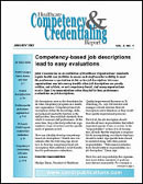 Health Care Competency & Credentialing Report Magazine