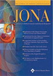 JONA, Journal of Nursing Administration Magazine - MedicalUS magazine subscriptions