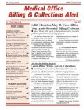 Medical Office Billing Collections Alert Magazine Subscription