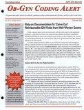 Ob-Gyn Coding Alert magazine subscription