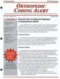 Orthopedic Coding Alert Magazine - MedicalUS magazine subscriptions