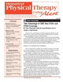 Outpatient Physical Therapy Coding Alert Magazine