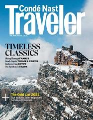 Conde Nast Traveler magazine subscription