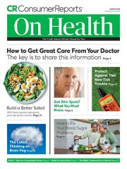 Consumer Reports On Health magazine subscription