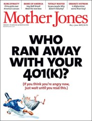 Mother Jones magazine subscription