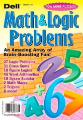 Logic Lover's Math & Logic Problems magazine subscription