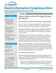 Health Information Compliance Alert magazine subscription