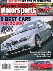 Grassroots Motorsports magazine subscription