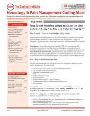 Neurology Coding Alert magazine subscription