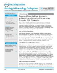 Oncology & Hematology  Coding Alert magazine subscription
