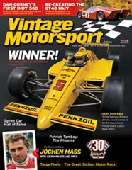 Vintage Motorsport Magazine Subscription