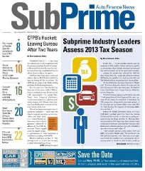 SubPrime Auto Finance News Magazine Subscription