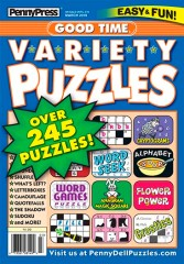 Good Time Variety Puzzles Magazine Subscription